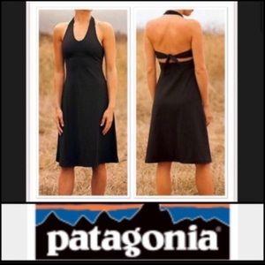 Patagonia halter dress size medium In black